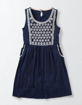 Starboard/Ivory Claudette Dress