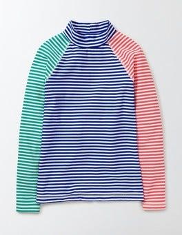 Patina/Ivory Stripe Rash Vest