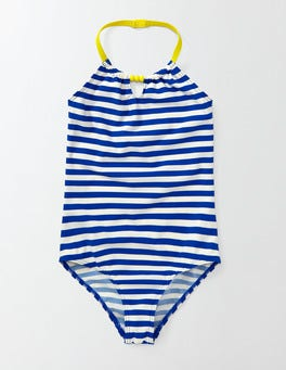 Noble Blue/Ivory Stripe Summer Swimsuit