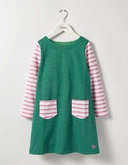 Stripy Jersey Dress