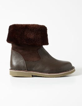Cosy Leather Boots