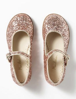Rose Gold Party Mary Janes