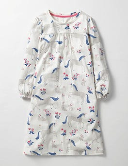 Ivory Enchanted Meadow Printed Nightie