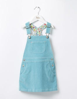 Frost Blue Adventure Dungaree Dress
