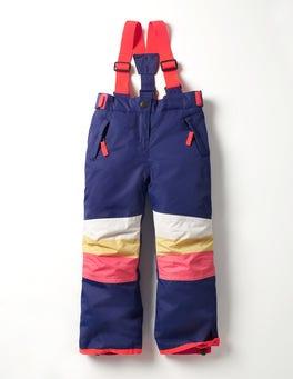 Dark Blue/Colour Block All-weather Waterproof Trouser