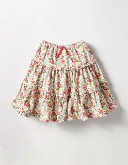 Honeysuckle Wild Berry Multi Twirly Frill Skirt