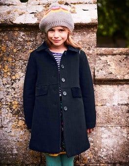 Velvet Collar Coat