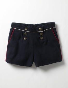 Navy Military Shorts