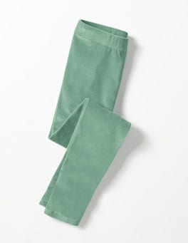 Csarite Green Velvet Leggings