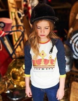 Glitter Raglan T-shirt