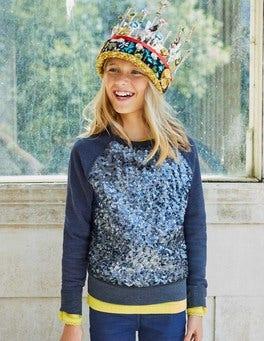 Sparkly Raglan Sweatshirt