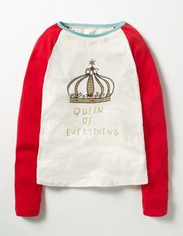 Ecru Crown Raglan Crown T-shirt
