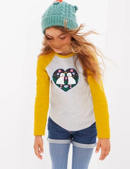 Animal Raglan T-shirt