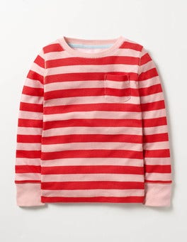 Vintage Pink/Ladybird Stripe Everyday T-shirt