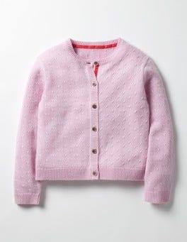 Vintage Pink Cashmere Cardigan