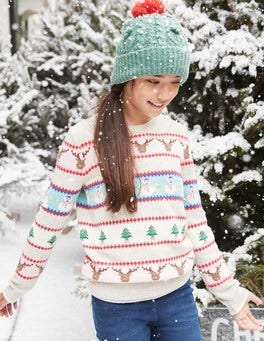 Festive Fair Isle Sweater