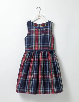 Starboard/Bluebell Check Check Party Dress