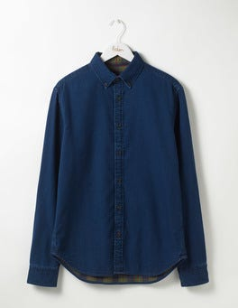 Denim Double Cloth Indigo Shirt