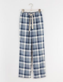 Blues Marl Check Brushed Cotton Pull-ons