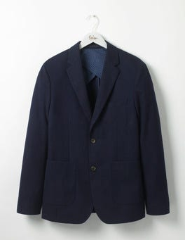 Navy Havergate Patch Blazer