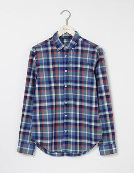 Heath Green Multi Check Casual Pattern Shirt