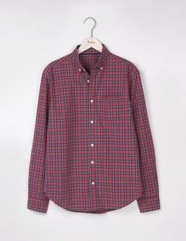 Gazpacho/Blue Marl Check Casual Pattern Shirt