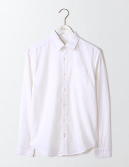 White Linen Cotton Shirt