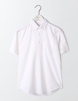 White Linen Cotton Popover