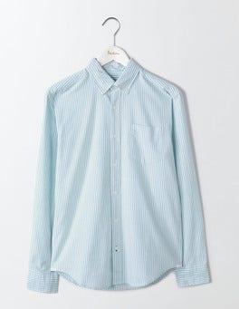 Sail Blue Stripe Oxford Shirt