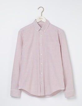 Fire Engine Stripe Oxford Shirt