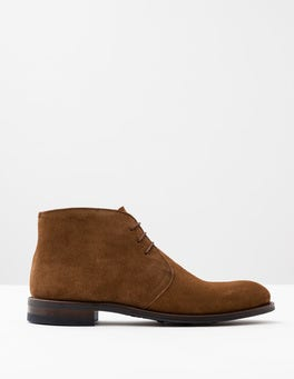 Tan Suede Corby Boot