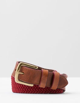 Red Webbing Belt