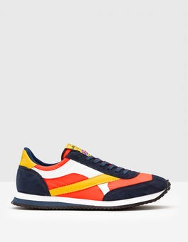Orange/Yellow/Navy Walsh Tornado