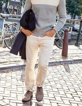 Slim Leg Twill Jeans