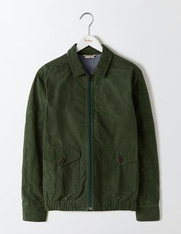 Spruce Green Swinton Waxed Jacket
