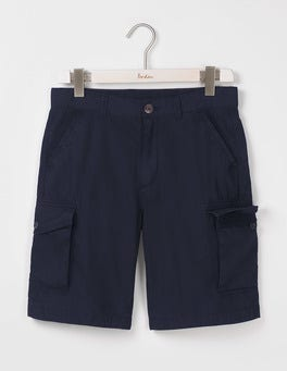 Classic Navy Cargo Shorts