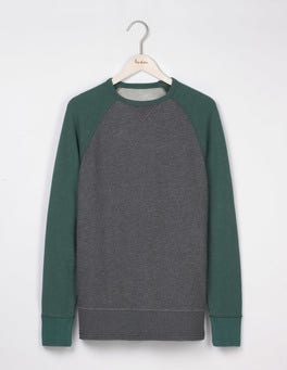 Field Green/Charcoal Marl Turner Sweatshirt