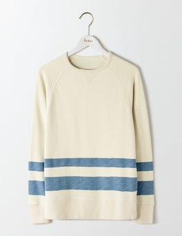 White Stone/Horizon Stripe Turner Sweatshirt
