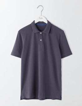 London Grey Piqué Polo