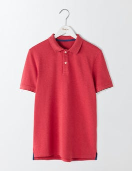 Sail Red Marl Piqué Polo