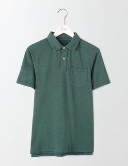 Field Green Slub Polo