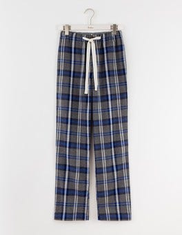 Grey Check Brushed Cotton Pull-ons