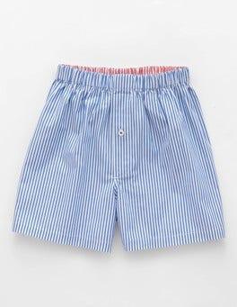 Blue Stripe Woven Boxers