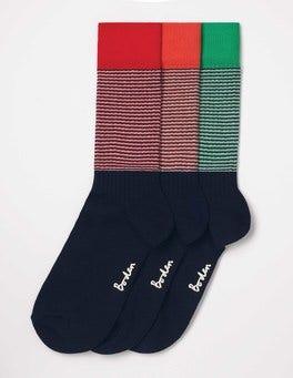 Colour Twist Pack Off-Duty Socks