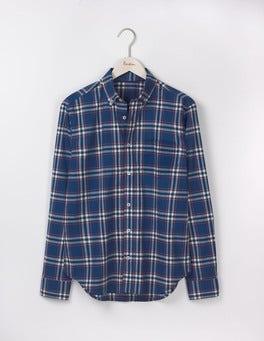 Royal Marine Check Casual Pattern Shirt