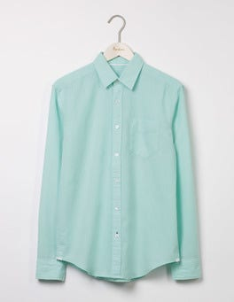 Spearmint Linen Cotton Shirt