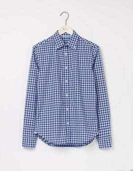 Mariner Gingham Slim Fit Garment Dye Shirt