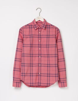 Gazpacho Check Slim Fit Garment Dye Shirt