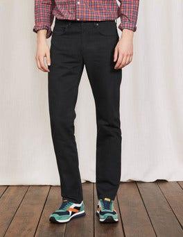 Straight Leg Twill Jeans