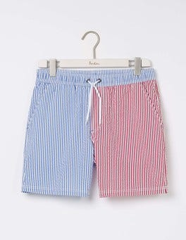 Hotchpotch Seersucker Stripe Swimshorts
